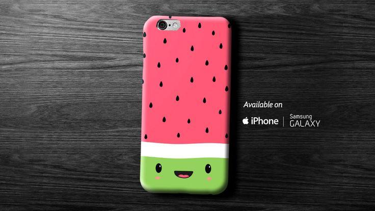 Happy Watermelon Case de Happrintables en Etsy https://www.etsy.com/es/listing/261268086/happy-watermelon-case
