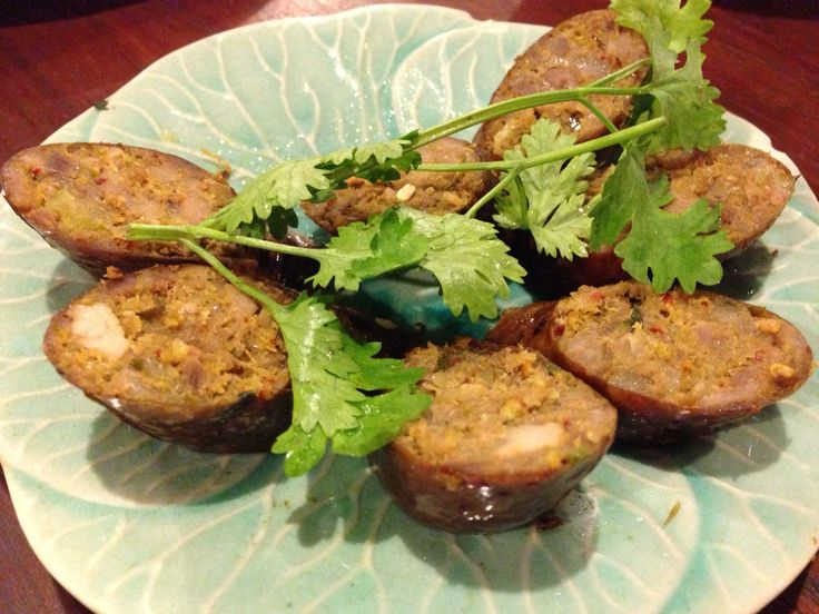 タイ北部料理  チェンマイソーセージ