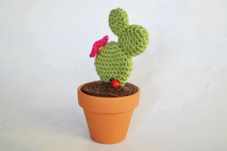 Amigurumi Cactus - Crochet Prickly Pear PDF Pattern ...