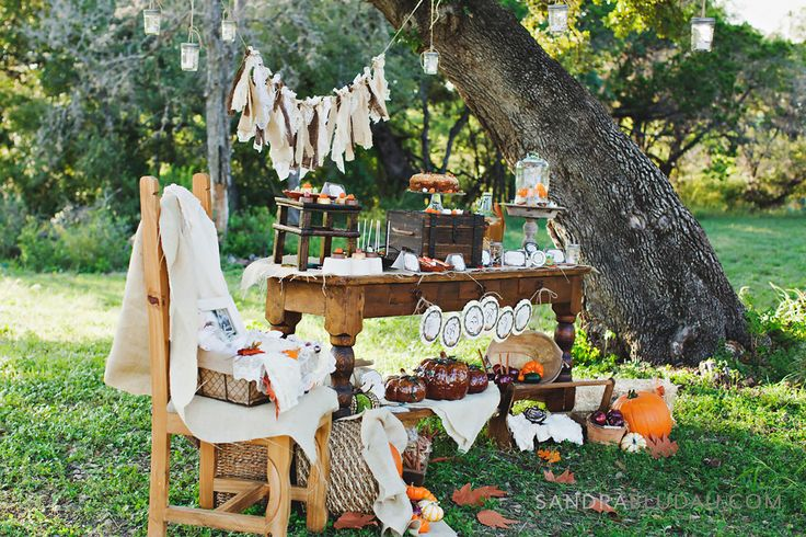 Rustic Fall Baby Shower