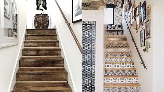 Décoration d'escalier via @canalvie