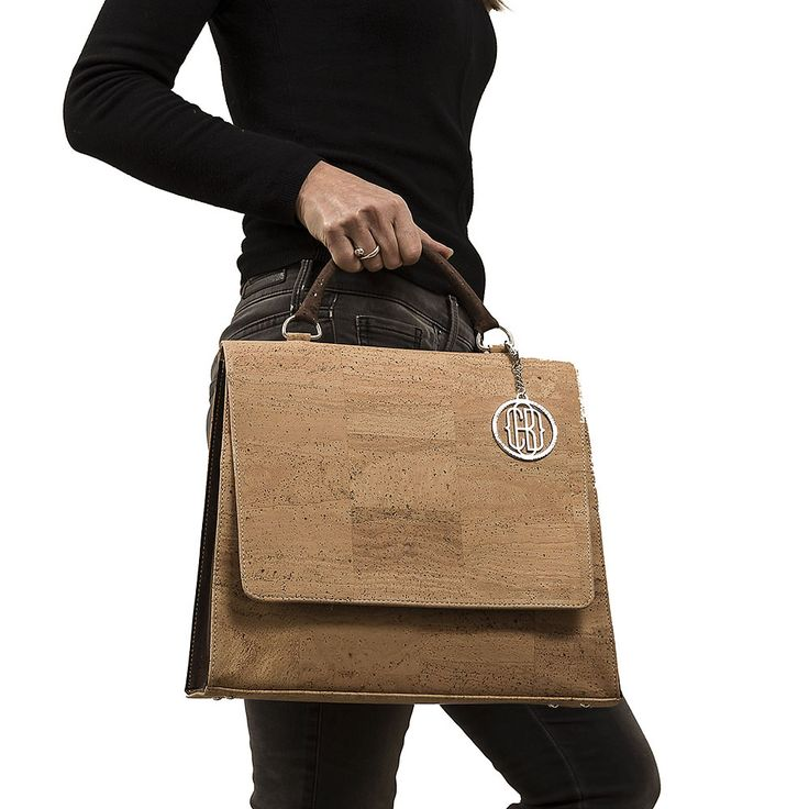 Cork Handbag Large Vegan Eco Friendly With The Latest Design Designed In Canada
