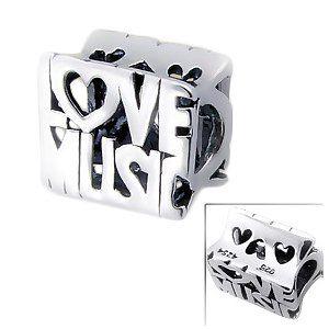 Love Music Alphabet Pandora Charm