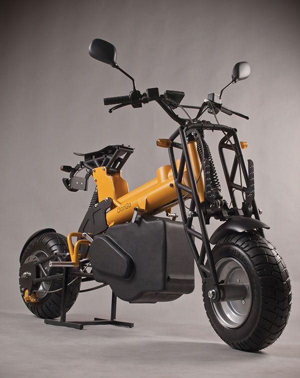 "we-r-stubborn: "" (via DonGo - Electric Modular Motorcycle by Otto Polefko » Yanko Design) """