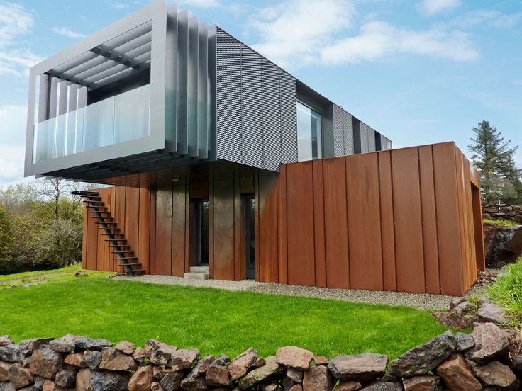 17 best ideas about grand designs houses on pinterest for Steel shipping container home designs