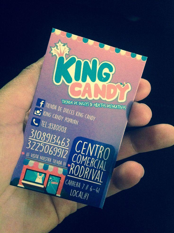 KING CANDY!! Tienda de dulces & objetos decorativos Popayán - Colombia 😍🍬🍭🍫🏡