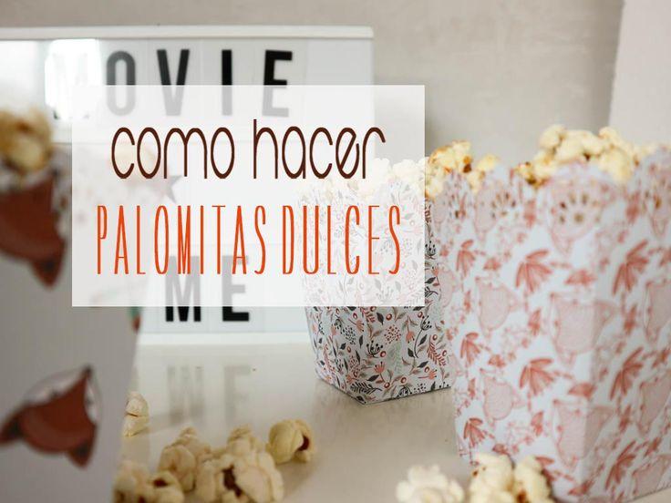 COMO HACER PALOMITAS EN CASA