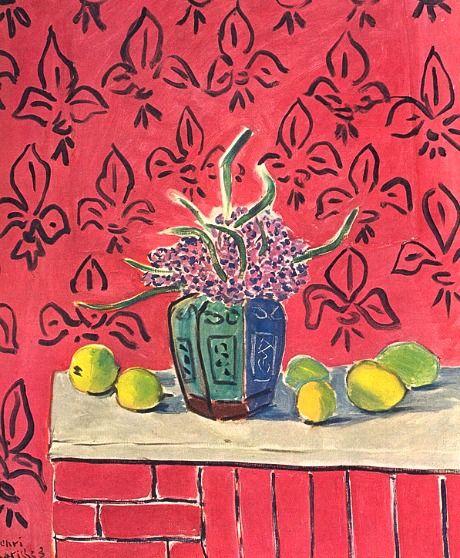 Henri Matisse - Still Life with Lemons,  1943