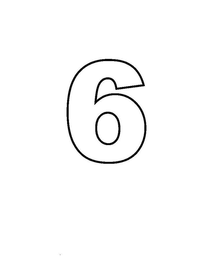 Simple Numbers Six