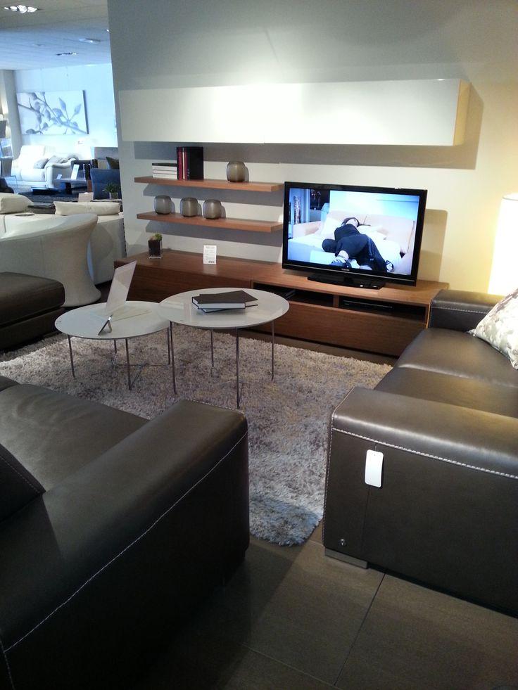 Id e d co meuble t l j 39 aime pinterest salons and indoor for Meuble tv jeffrey