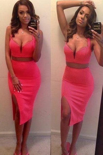 Flattering Feminity Romantic Pink Skirt Set
