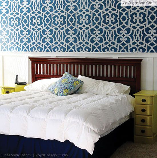 216 Best Images About Moroccan Wall Stencils Amp Design On