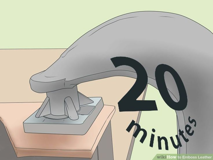 How to Emboss Leather: 15 Steps (with Pictures) - wikiHow