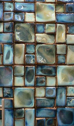 We have this awesome mosaic tile in several colors. tilesensations