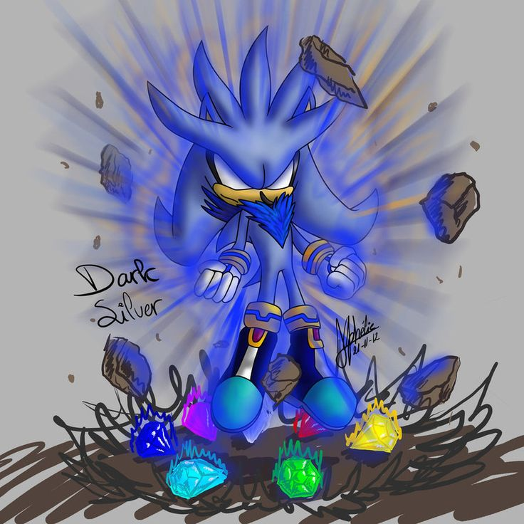 image gallery hyper silver the hedgehog