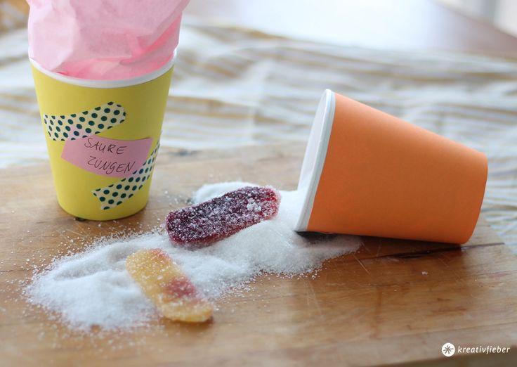 Leckerschmecker : Saure Zungen selbermachen. Sauer macht lustig! Wir zeigen euch ein Rezept für saures Weingummi zum Nachmachen!