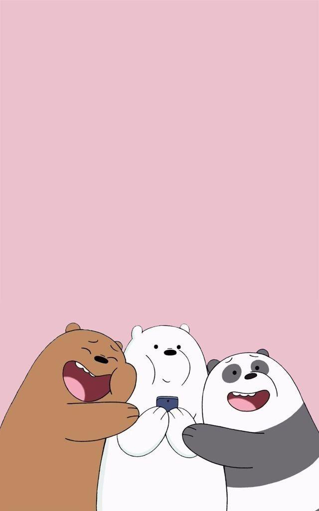 We Bare Bears Kartun Boneka Hewan Ilustrasi Karakter
