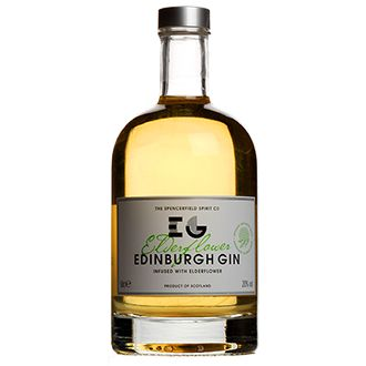 Tastiest gin ever - Edinburgh Elderflower Gin