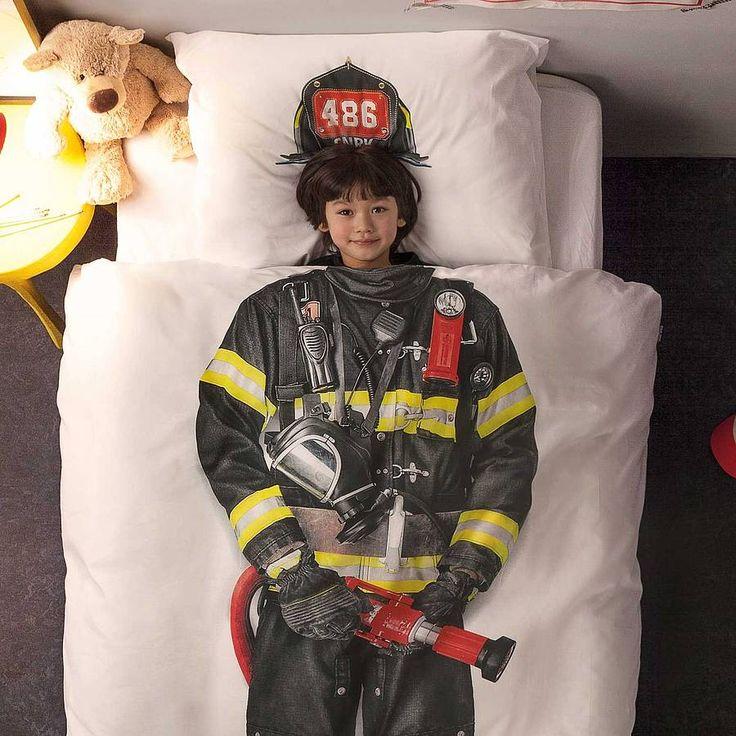 Firefighter Bed Set
