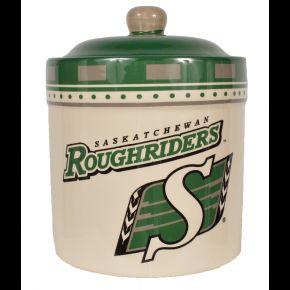 Saskatchewan Roughriders Ceramic Cookie Jar