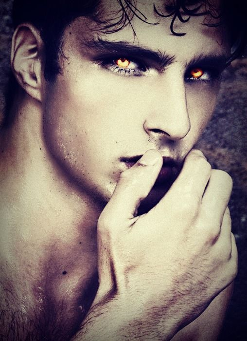 Darren's eyes are the closest thing Lotus has seen to actual light. He tries to imagine light as the same color.