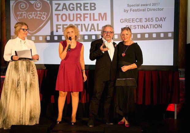 """Το πρώτο βραβείο και στο Διεθνές Φεστιβάλ του Ζάγκρεμπ έλαβε το βίντεο του ΕΟΤ «Greece-A 365-Day Destination"""""""