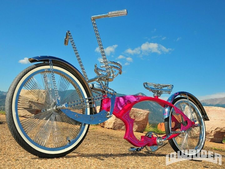 17 Best Images About Lowrider Bikes On Pinterest