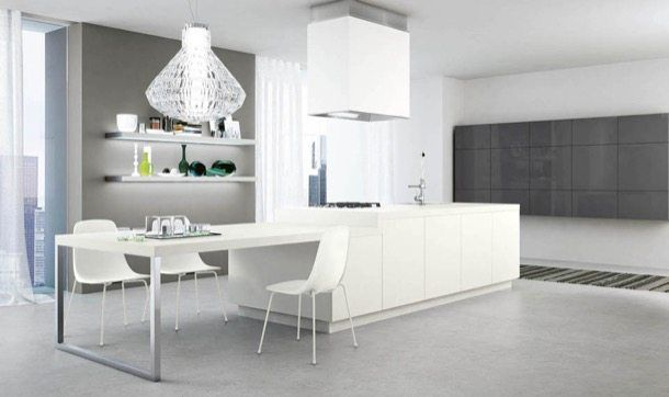 Cucine Moderne Con Isola Centrale Scavolini : Reflex muebles de cocina tableros mdf la marca