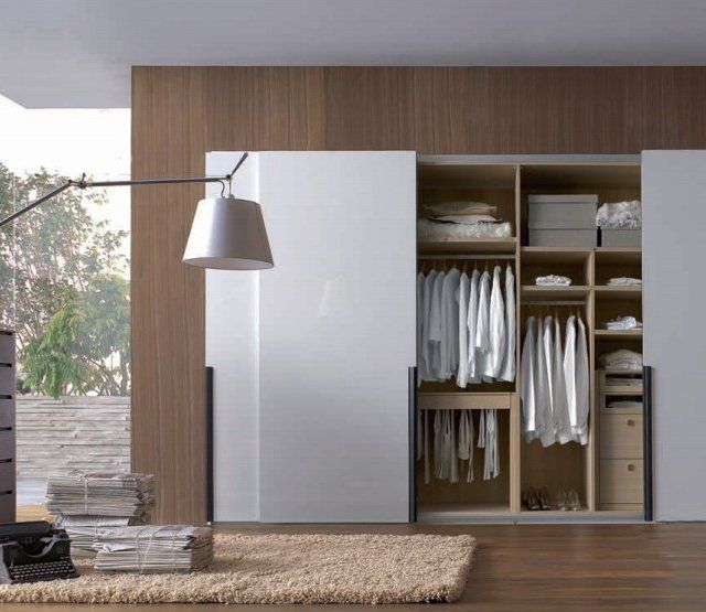 Sliding Door Wardrobe by Carre #bedroom #closet