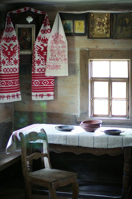 All Things Ukrainian - Ukrainian Traditional House