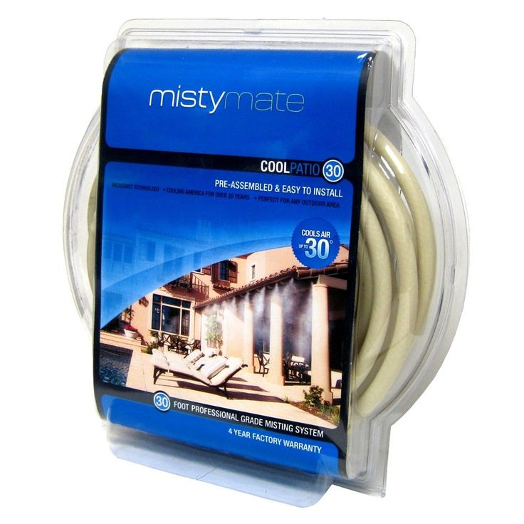 MistyMate Nozzle Cool Patio Misting System - 32'