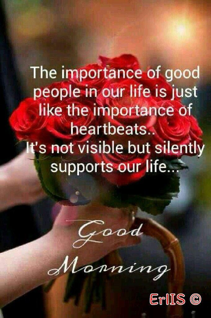 Good Morning...