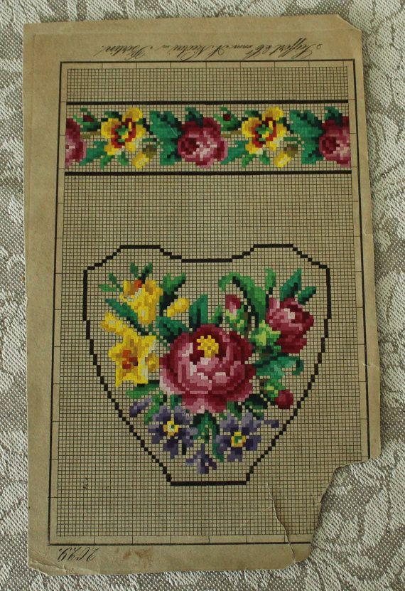 Summer sale Sweet blooms. Cross stitch pattern. by rolanddesigns
