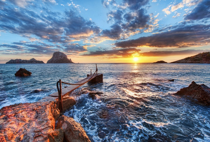 Spain- Is that a real picture? Its so pretty its hard to believe.