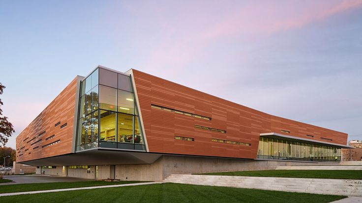 Exterior facade - Lawrence Public Library - 2030 Architecture - Gould Evans