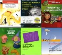 I miei libri sulla dislessia, filastricche, poesia.