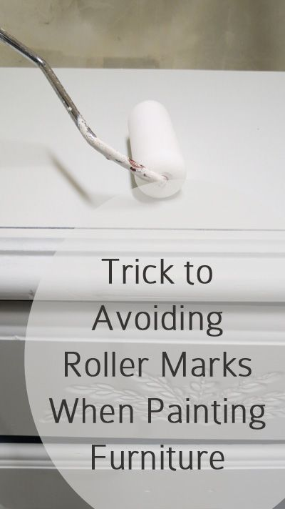 The Trick to Avoiding Roller Marks When Painting