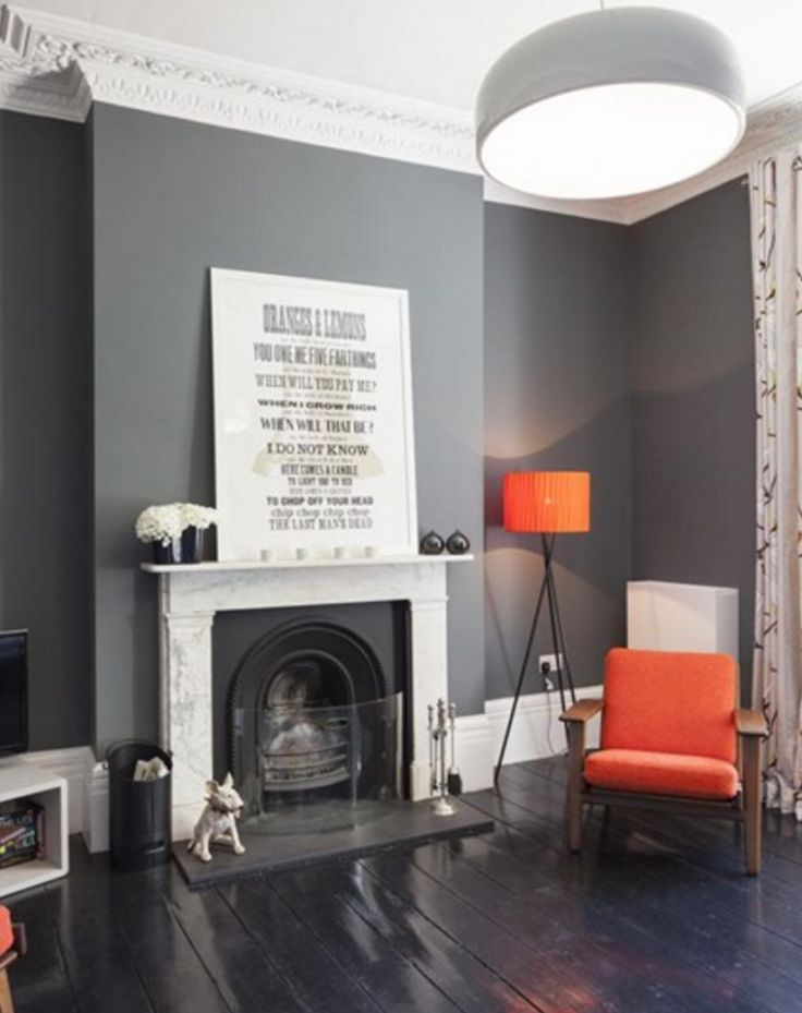 Black painted floorboards | Mad About Paint Effects - Mad About The House