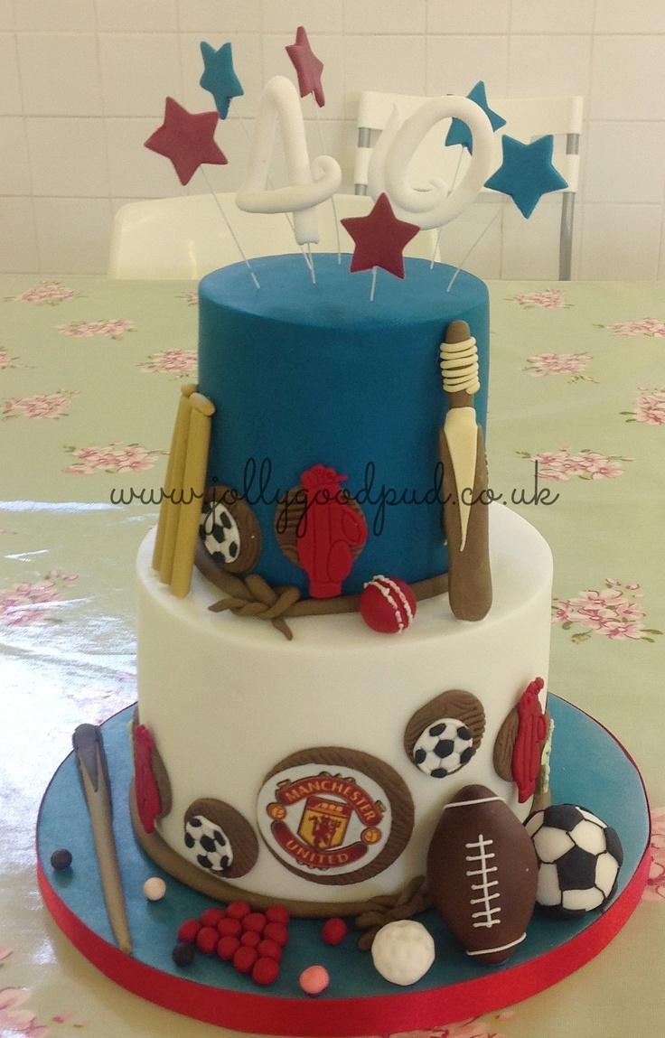 35 best Birthday Cakes images on Pinterest Birthday cakes 1st