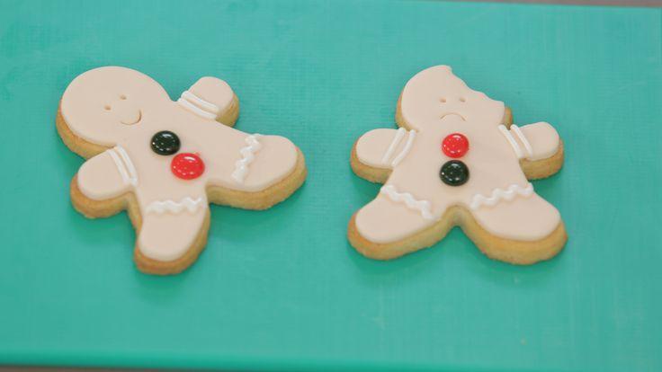 Galletas de #Navidad decoradas con glasa #GalletasNavideñas #Fondant #Glasa #Cookies #arboldenavidad