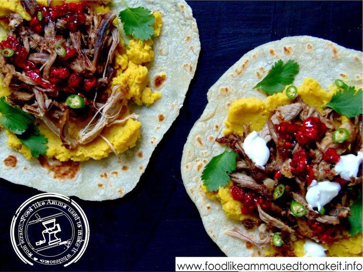 Easy Lamb Wraps Recipe - Food like Amma used to make it