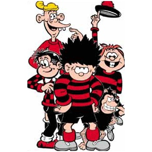 these are some of the many characters of BEANO