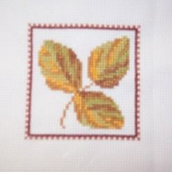 Leaf for Mam's quilt