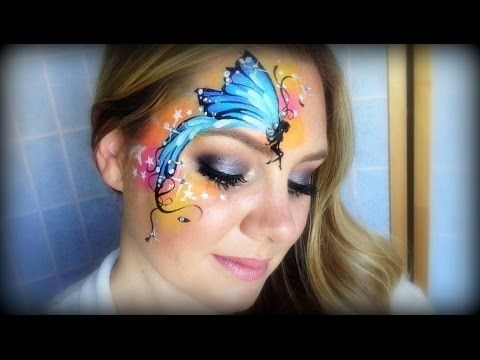 Monster High Makeup / Face Painting Tutorial - Frankie Stein - YouTube