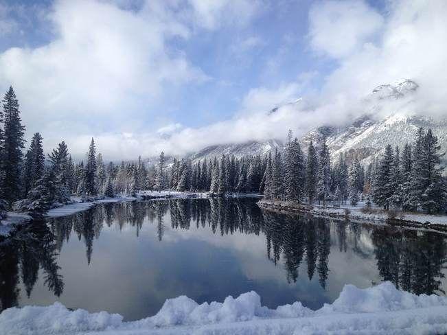 Winter wonderland // by Nic, Banff, AB