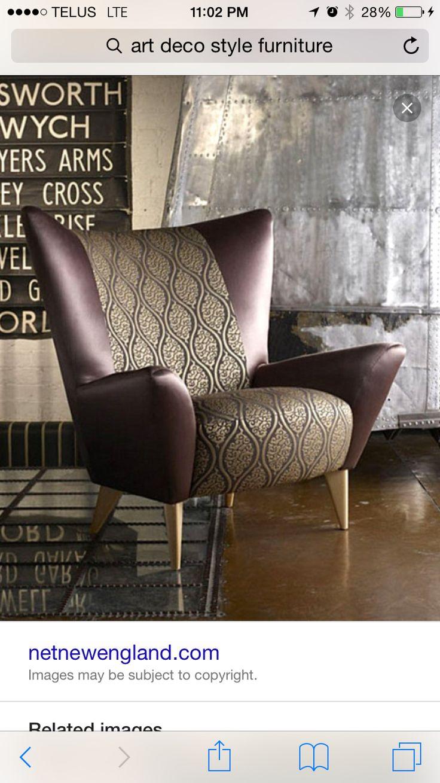 Streamline Moderne Chair
