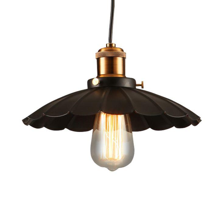 Маленькое черное подвесные светильники с металлической абажур элегантный промышленные железо подвесные светильники старинные антикварные лампы для гостиной купить на AliExpress