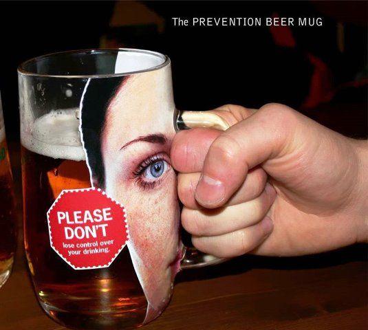 Iklan tentang anti minuman keras