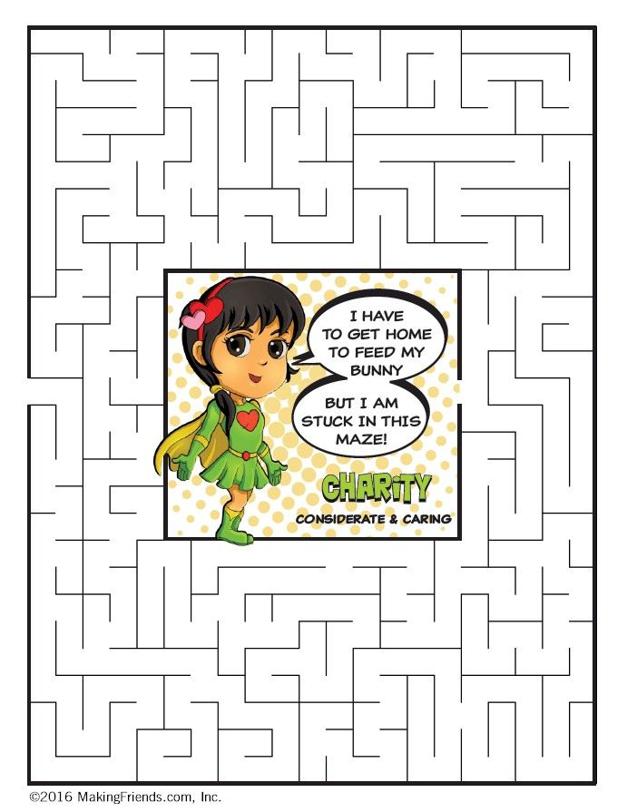 26 best images about daisy girl scout spring green petal for Considerate and caring coloring page