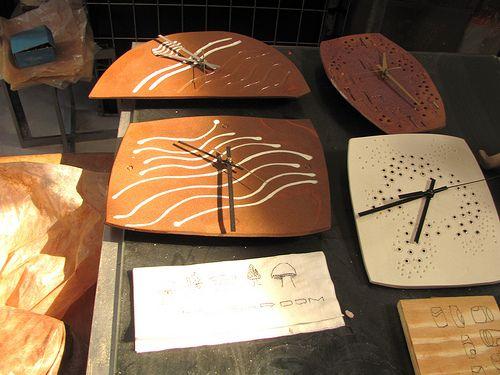 All sizes | Ceramic Clocks | Flickr - Photo Sharing!